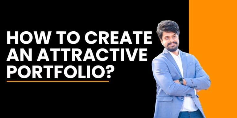create an attractive portfolio