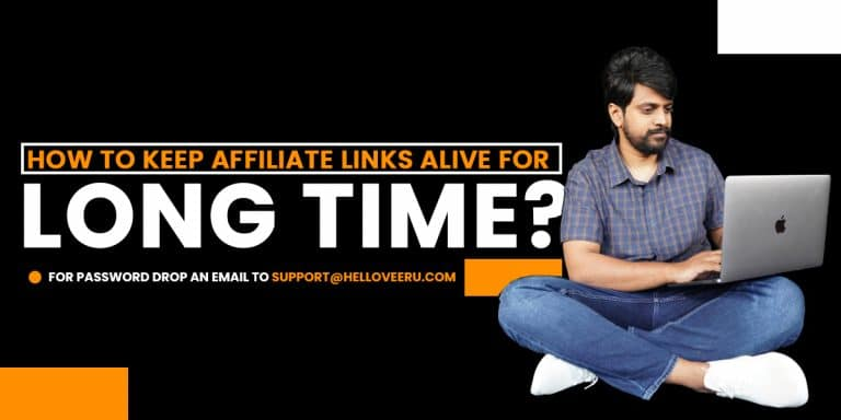 keep your affiliate link