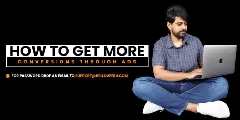 get more conversions