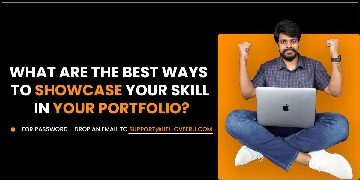 Showcase Your Work on Website