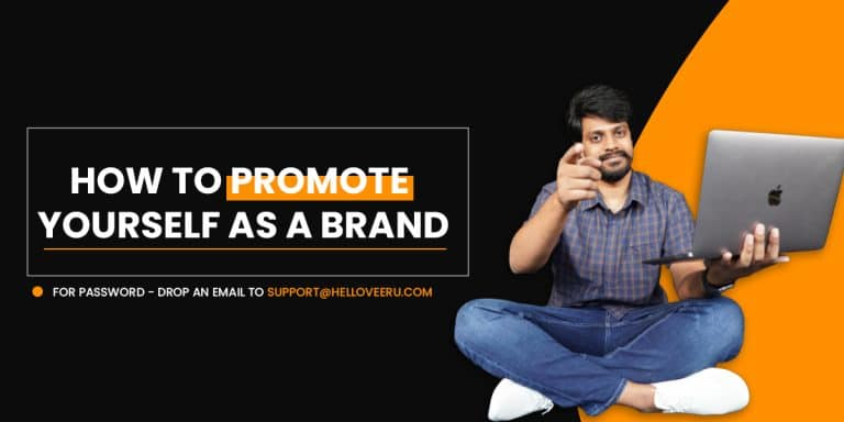 Promote Yourself as a Brand