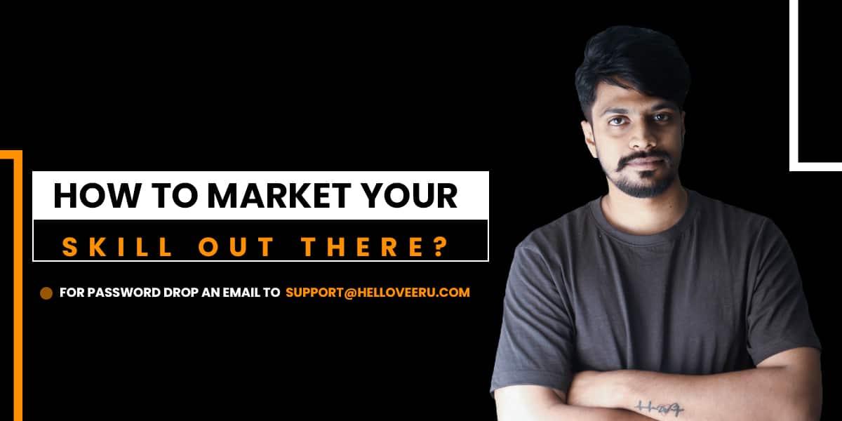 Market Your skill