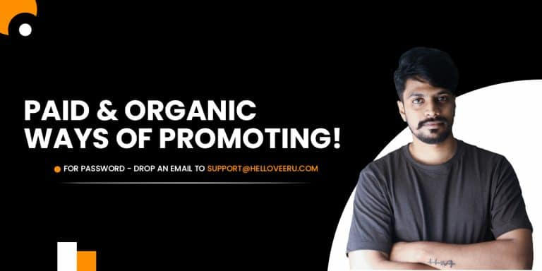 paid and organic promoting